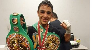 Nordine Oubaali, toujours champion